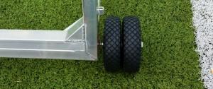 Gewicht veilig voetbal