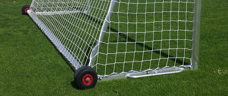 Veilig verzwaard voetbaldoel
